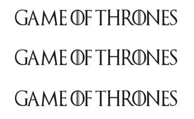 Game Of Thrones Font Family Download