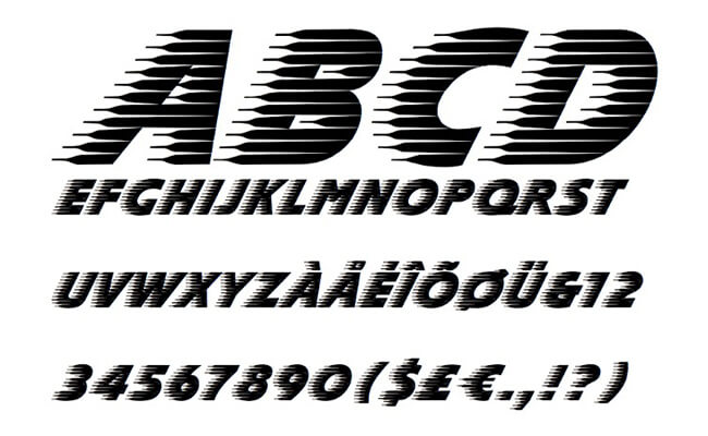 Slipstream Font Family Download