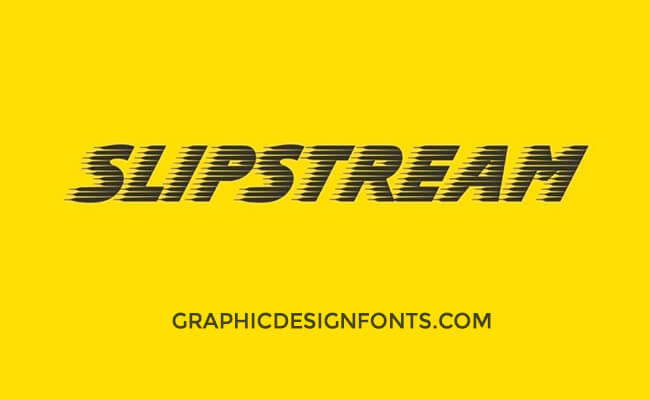 Slipstream Font Family Free Download