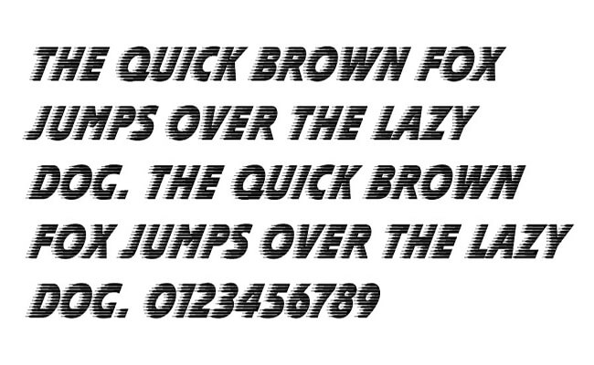 Slipstream Font Free Download