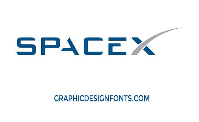 SpaceX Logo Font Download - Graphic Design Fonts
