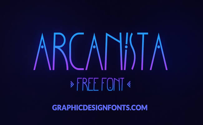 Arcanista Font Family Free Download