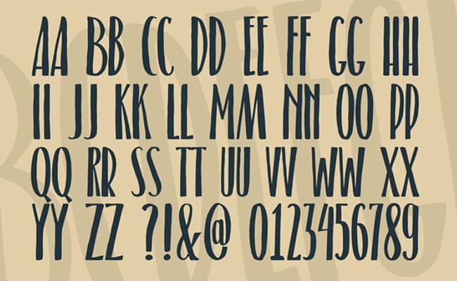 Belacu Font Family Download
