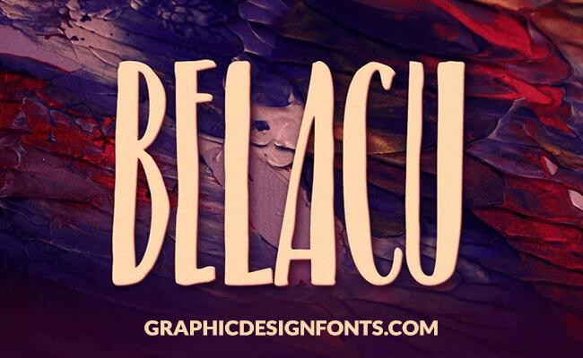 Belacu Font Family Free Download