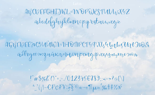 Celestina Font Family Download