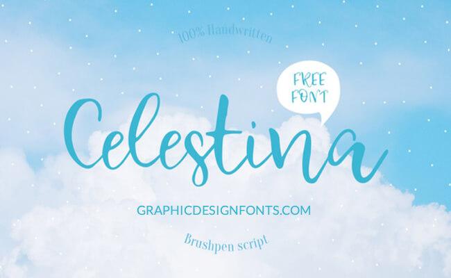 Celestina Font Family Free Download