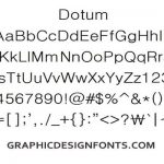 Dotum Font Family Free Download