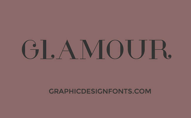 Glamor Font Family Free Download