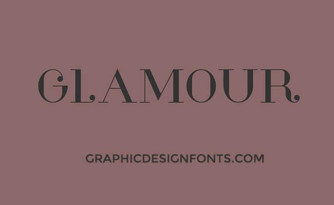 Glamor Font Family Free Download