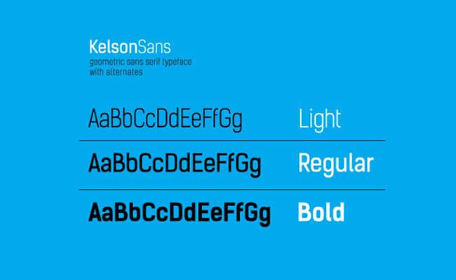 Kelson Sans Font Family Download