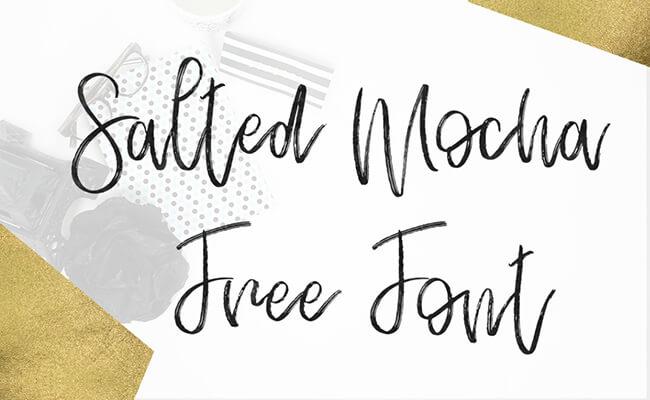 Salted Mocha Font Family Download