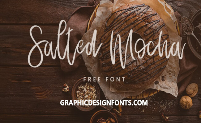 Salted Mocha Font Family Free Download