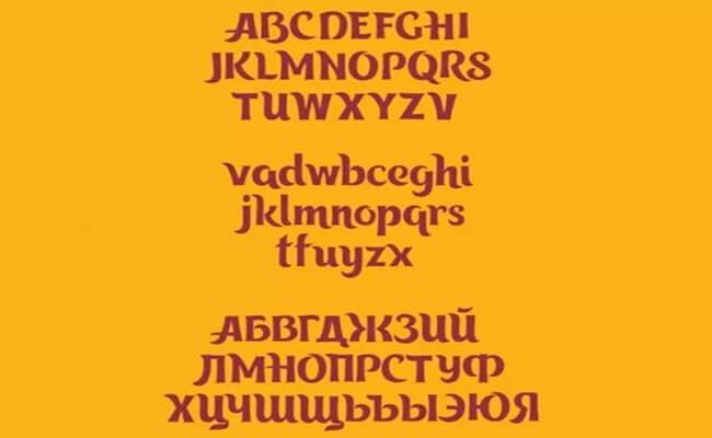 Tangak Font Family Download