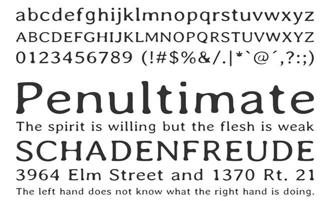 Averia Font Free Download