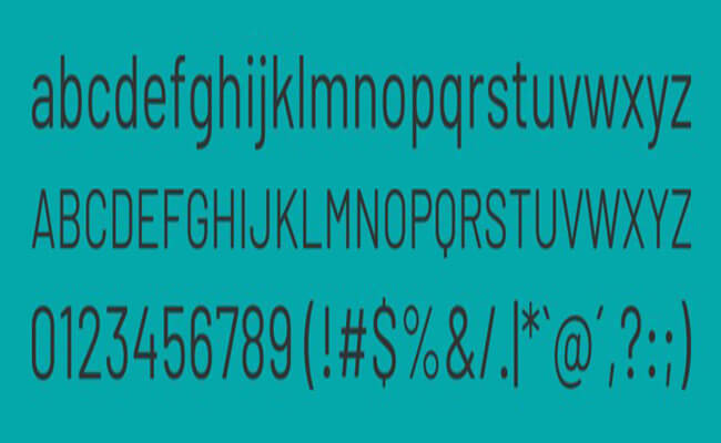 Barlow Font Family Download