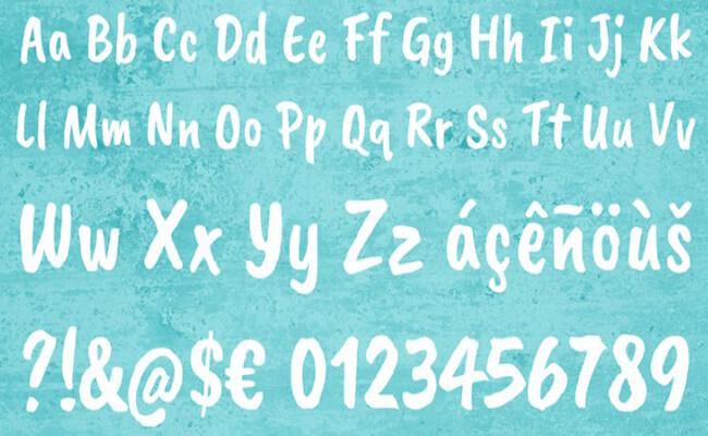 Caveat Brush Font Family Download