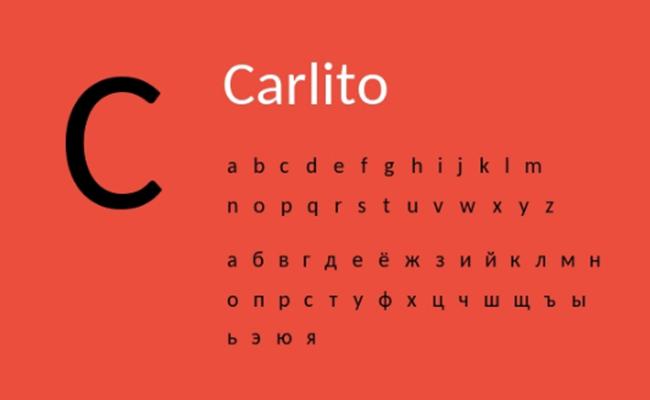 Carlito Font Free Download
