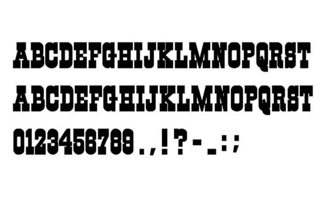 Dallas Cowboys Font Free Download
