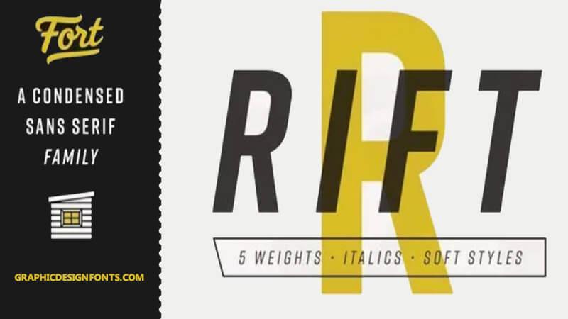 Rift Font Family Free Download