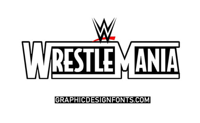 Wrestlemania Font Family Free Download