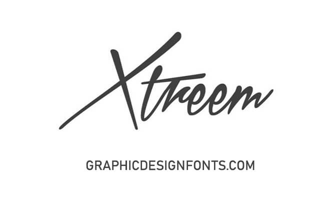 Xtreem Font Family Free Download