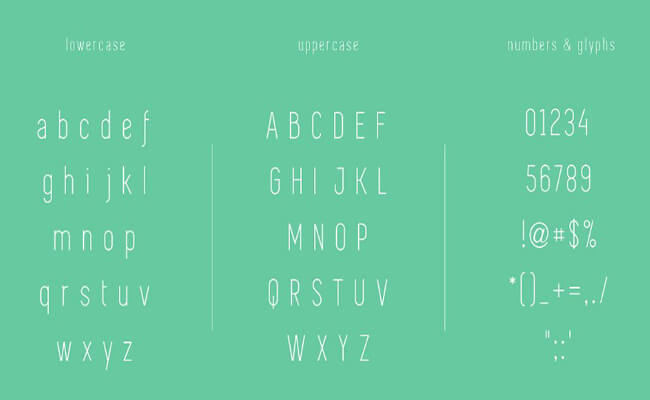 Simplifica Font Free Download