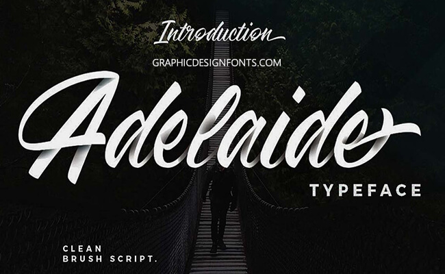 Adelaide Font Family Free Download