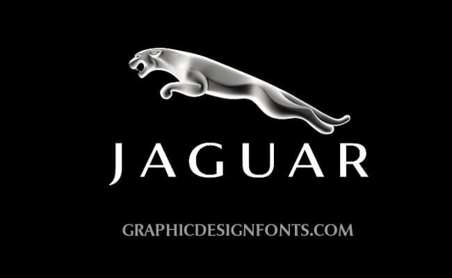 Jaguar Logo Font to download