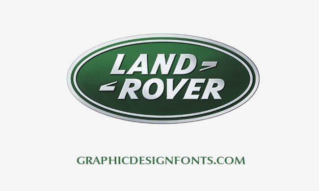 Land Rover Font & Logo Free Download