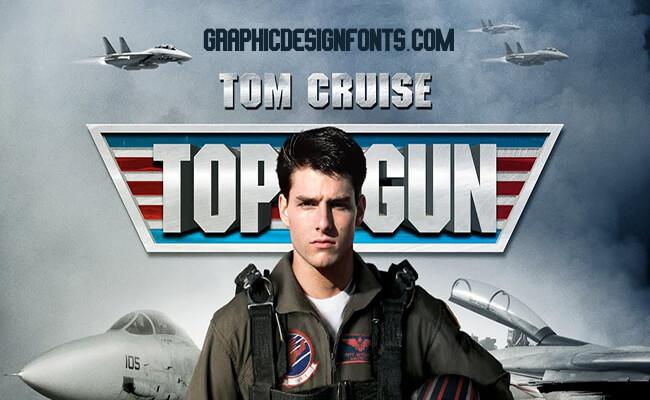 Top Gun Font Family Free Download