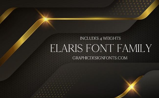 Elaris Font Family Free Download