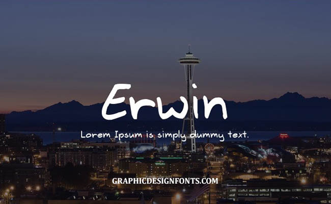 Erwin Font Family Free Download
