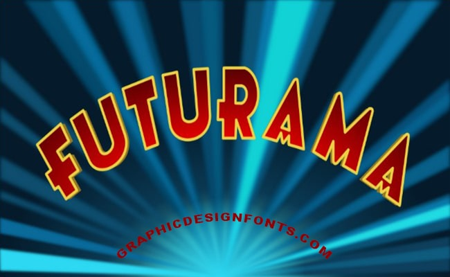 Futurama Font Family Free Download
