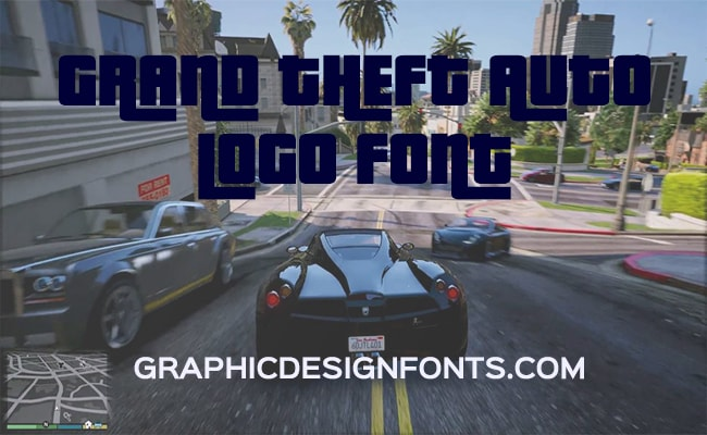 GTA Font Logo Free Download