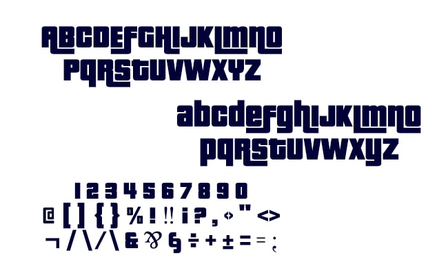 GTA Logo Font Free Download