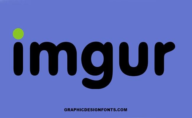 Imgur Logo Font Family Free Download