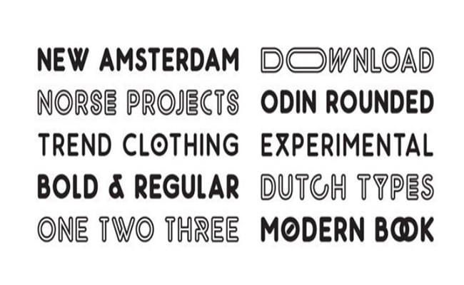 Odin Rounded Font Family Download
