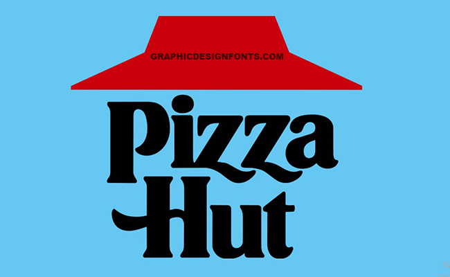 Pizza Hut Font Family Free Download