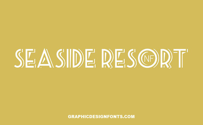 Sea Side Resort Font Family Free Download