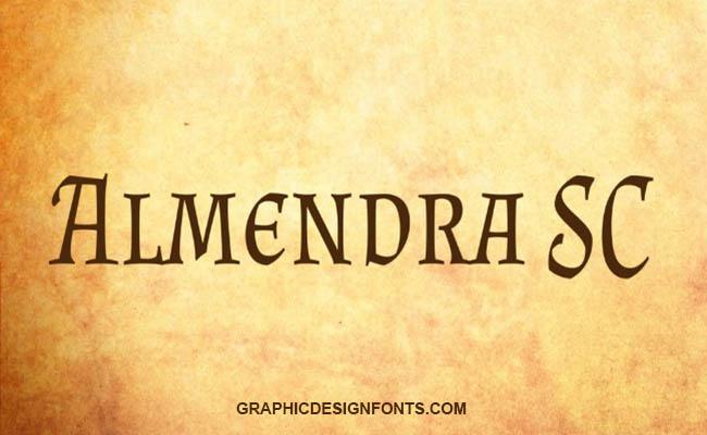 Almendra Font Family Free Download