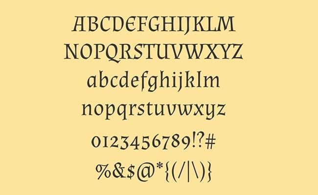 Almendra Font Free Download