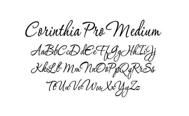 Corinthia Font Family Download