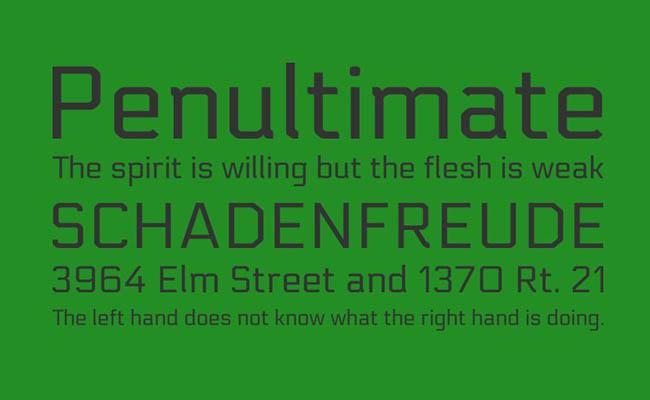 Electrolize Font Family Download