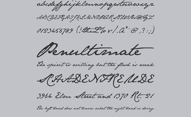 Jane Austen Font Family Download