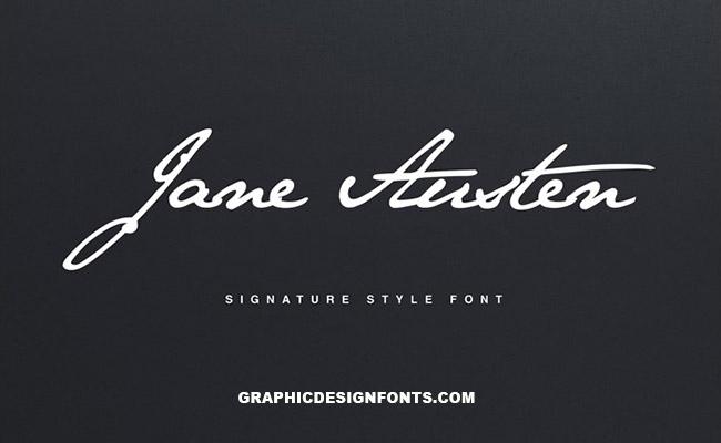 Jane Austen Font Family Free Download