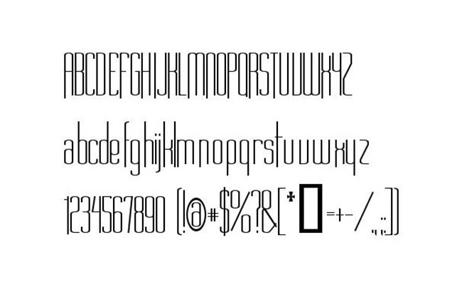 Long Cool Woman Font Family Download