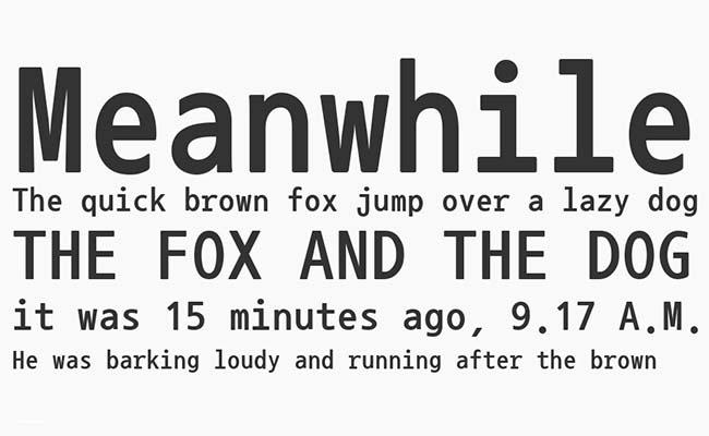 Nanum Gothic Font Family Download