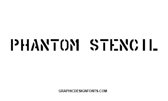 Phantom Font Family Free Download
