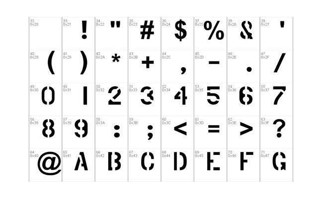 Phantom Font Free Download
