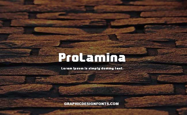Prolamina Font Family Free Download